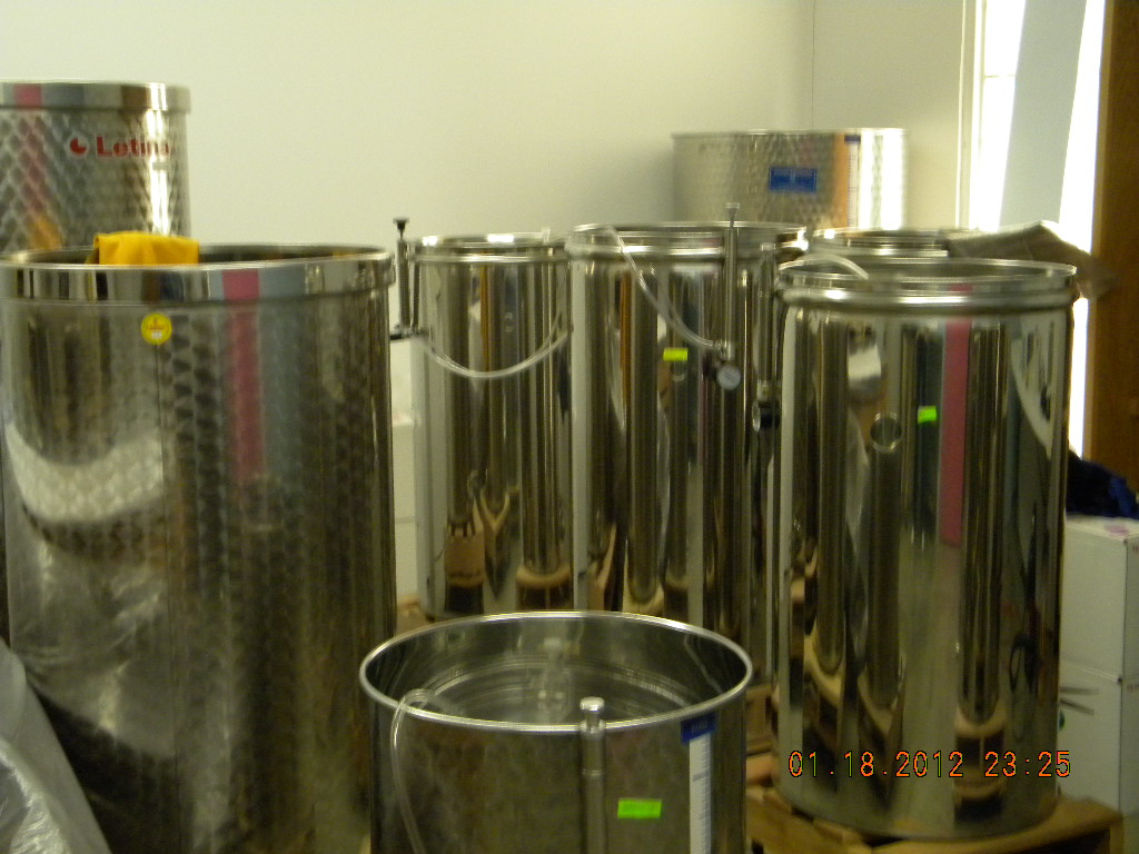 More Wine Vats